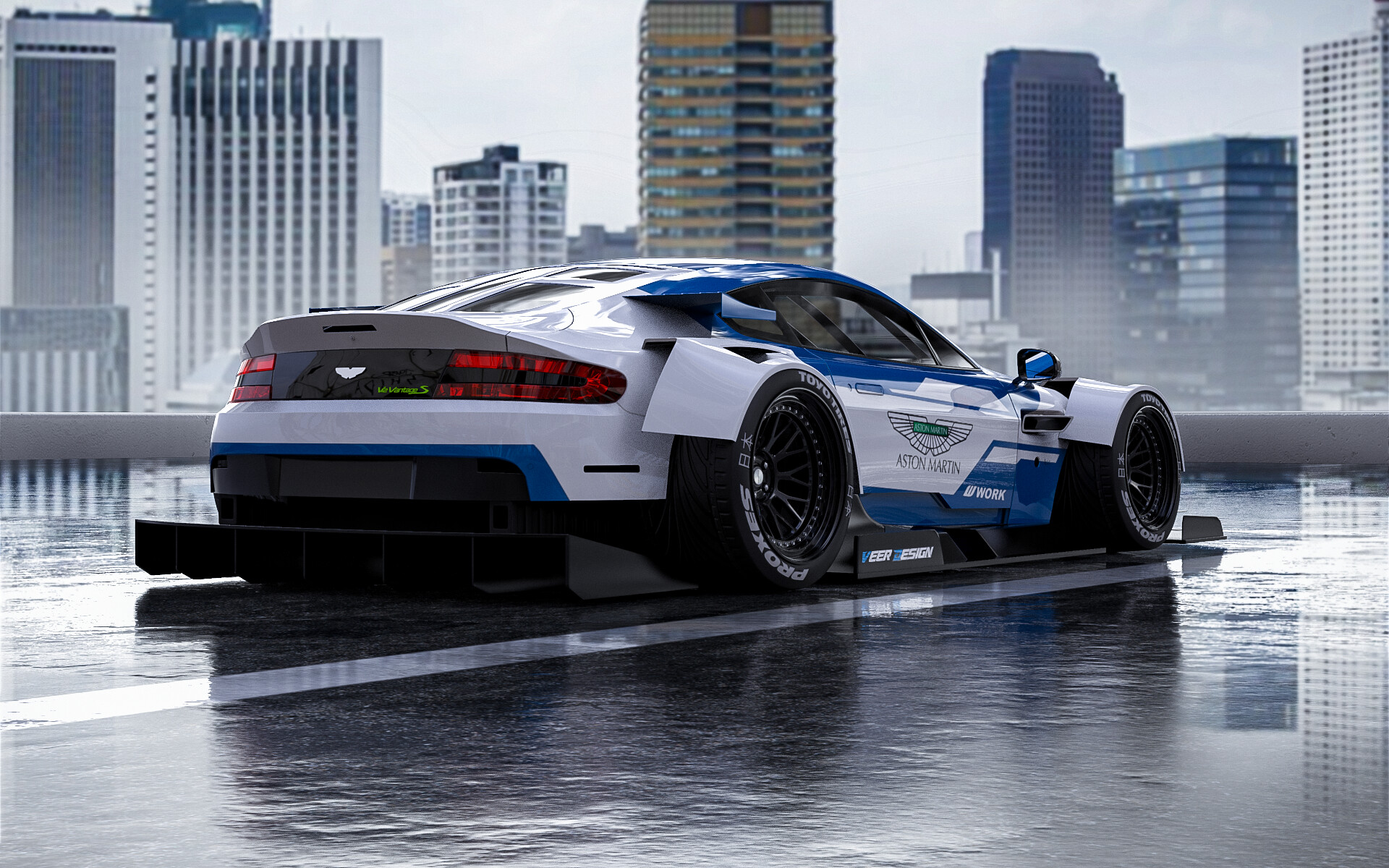 Veer Design Widebody Aston Martin V12 Vantage