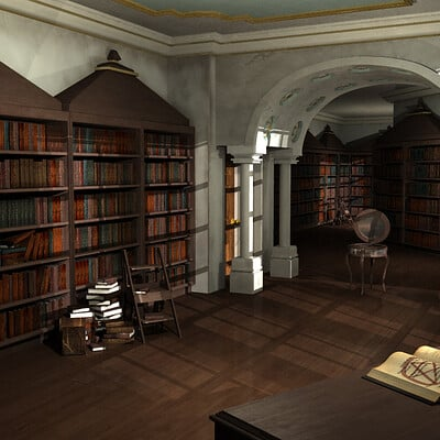 Rebecca sinclair library 2