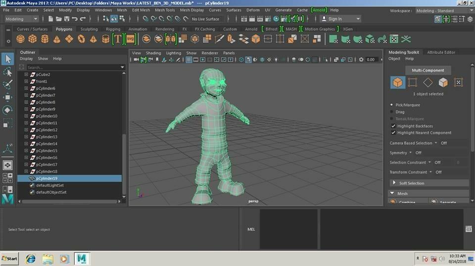 ArtStation - Beginners 3D Model, Keith Jeremy Maglunob