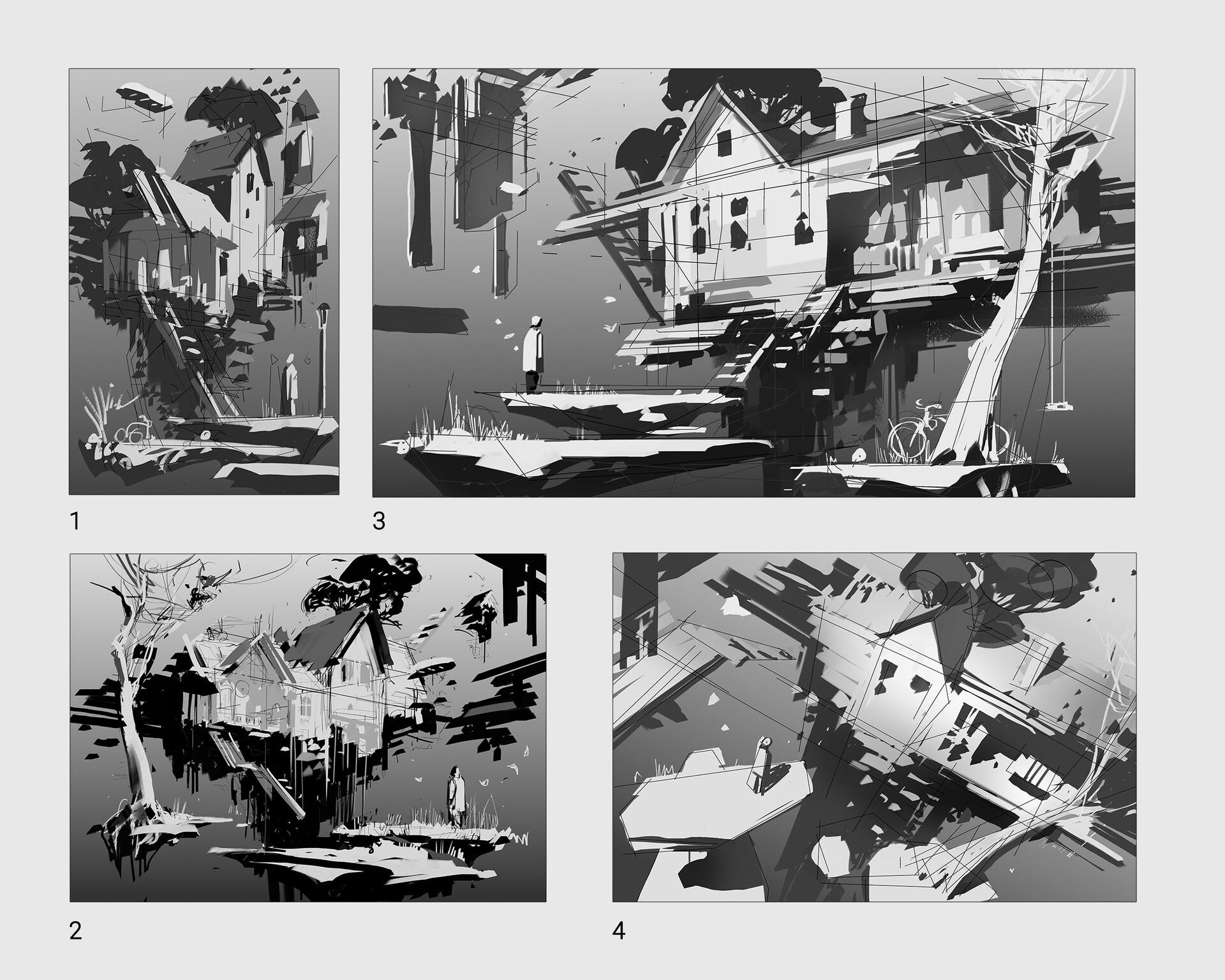 Pavel goloviy sketches