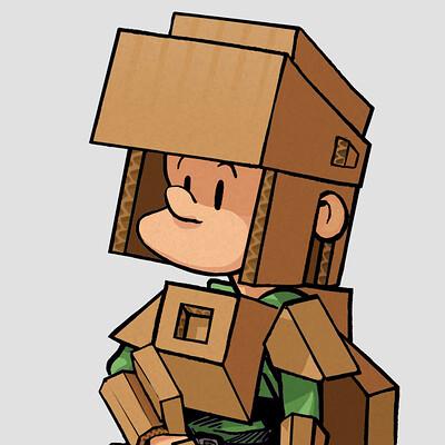 Edouard duhem cardboxboy 1080