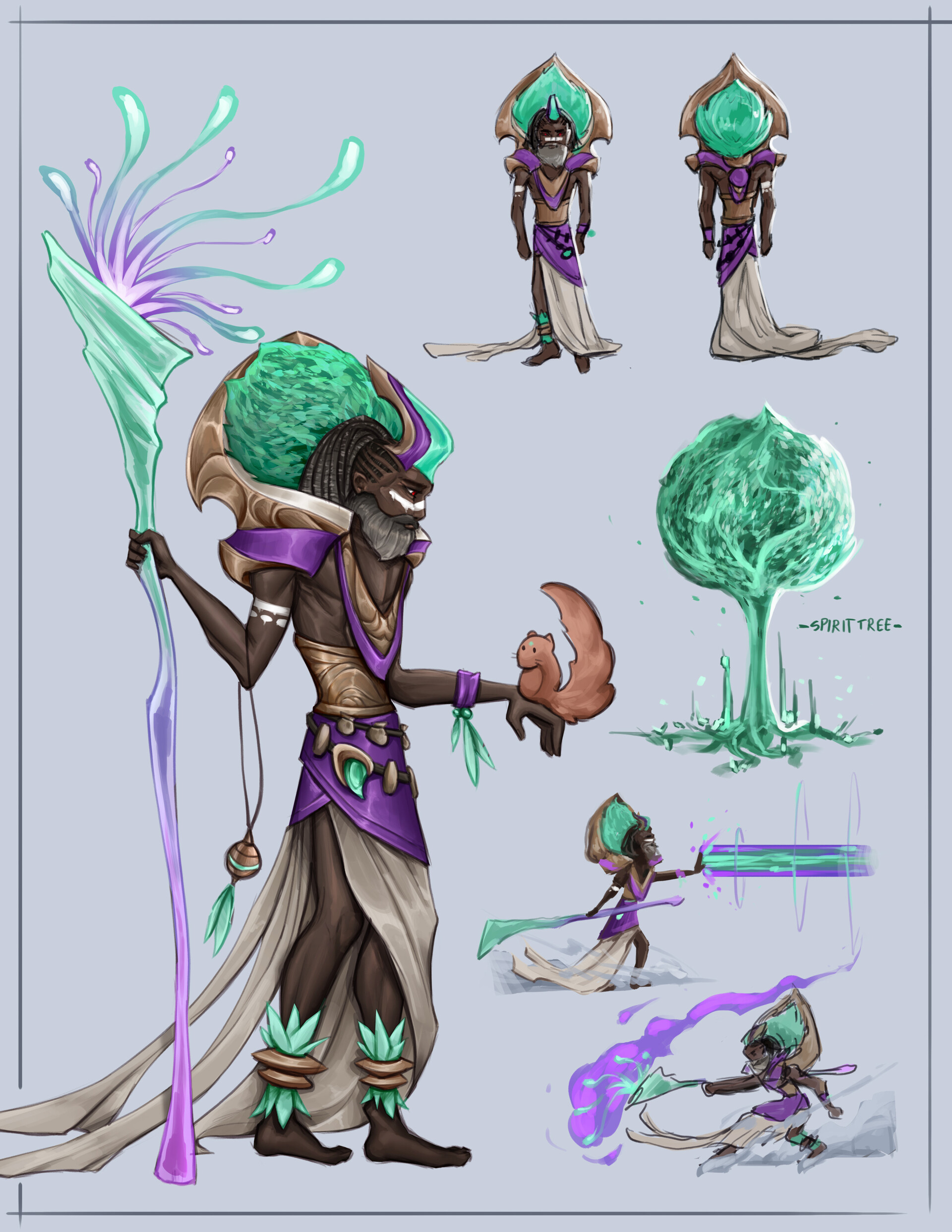 Devin yang as ilaras concept sheet