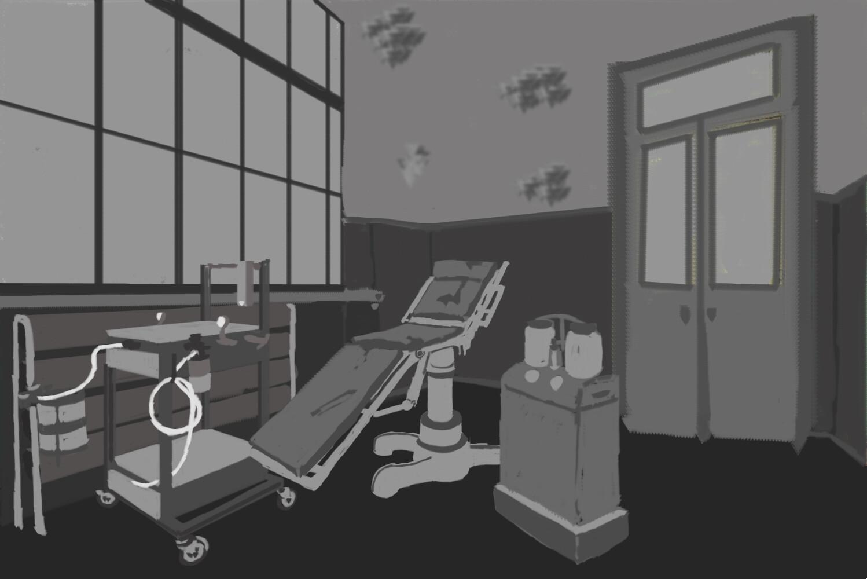 Horror Environment Concept Art