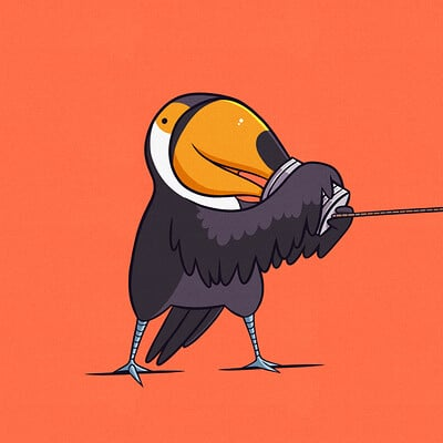 Two-can Toucan