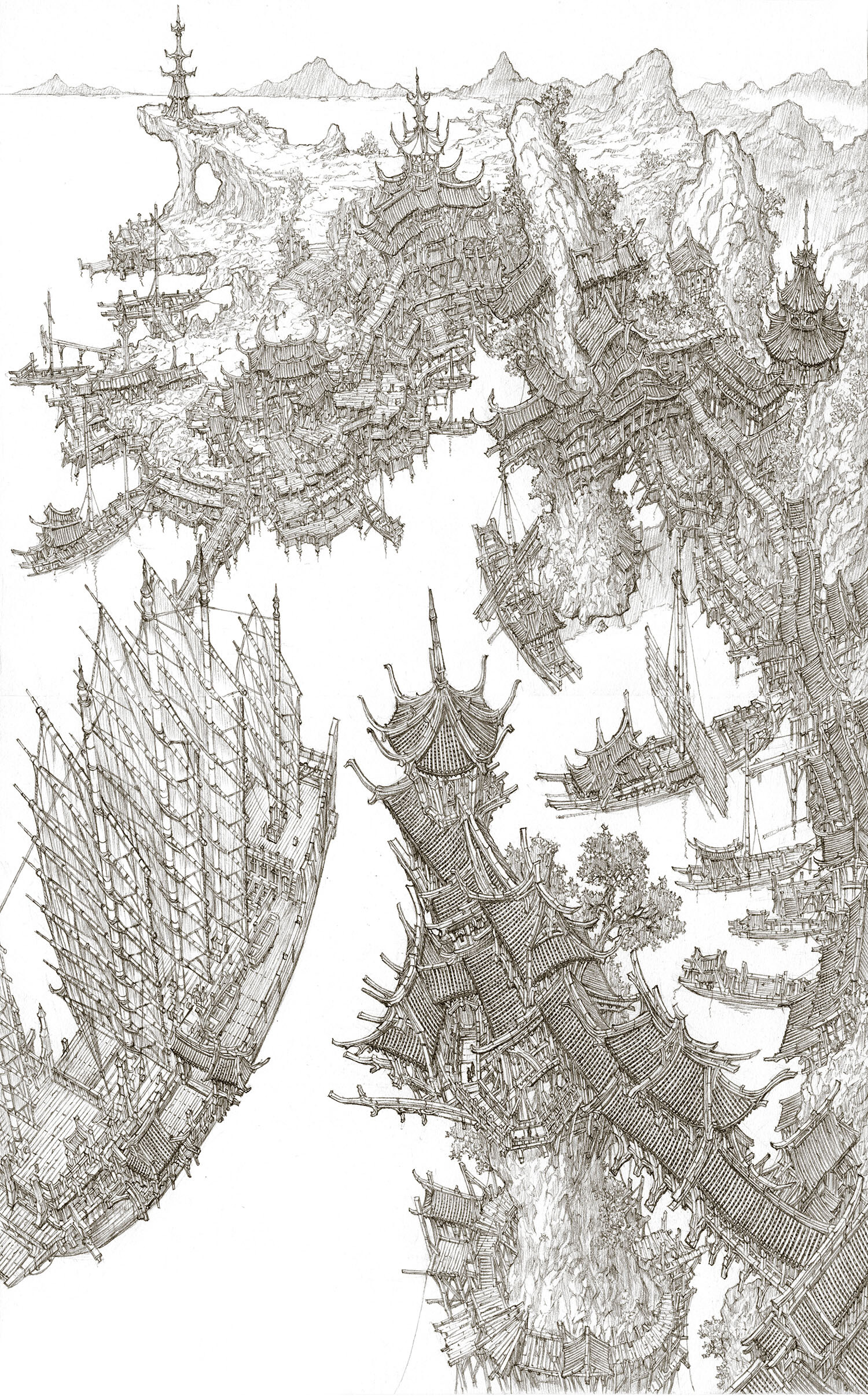 Min seub jung chinese cities 2