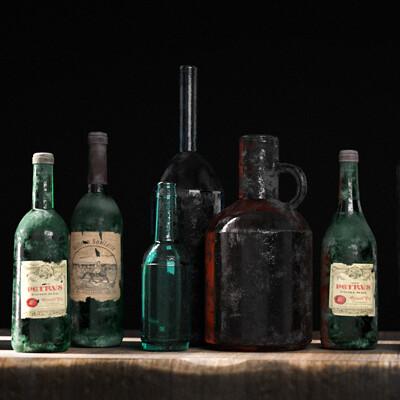Khachik astvatsatryan bottles