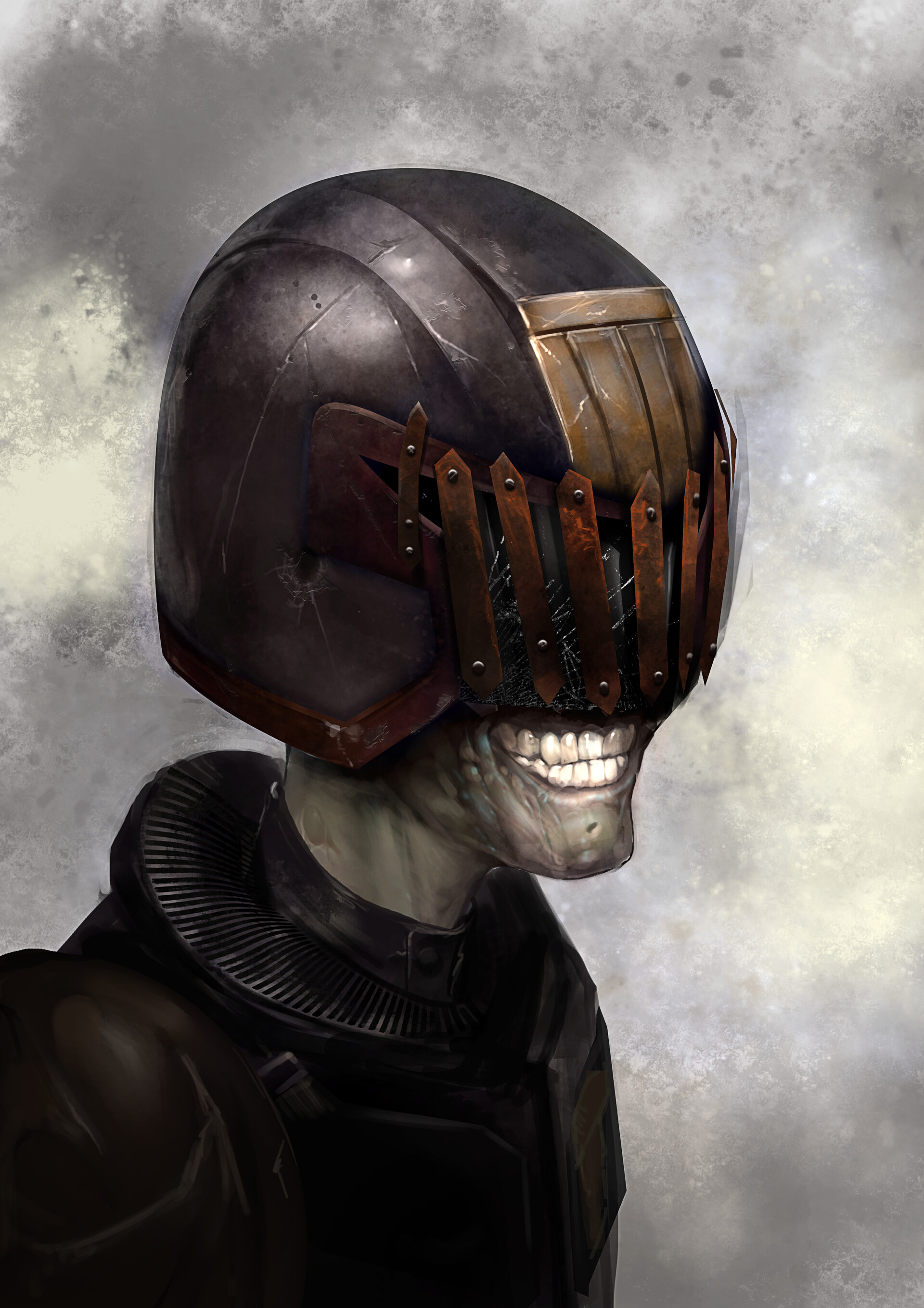 Simon lissaman movie death helmet