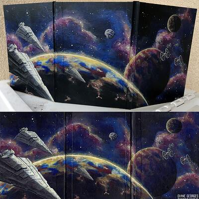 Diane georges rpg screen starwars spaceship