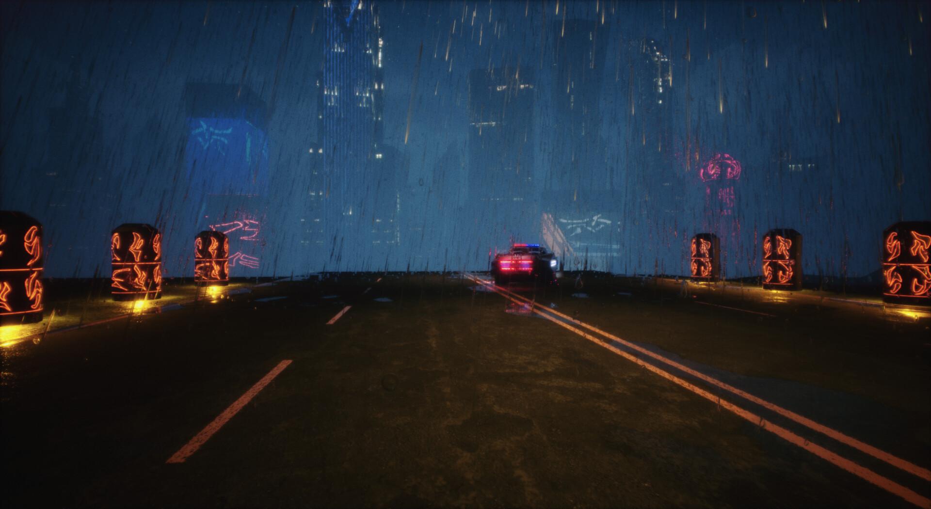 ArtStation - Neo City Skyline - Environment Design for the