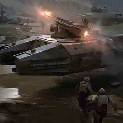 Nick gindraux hover tank render2 artsation