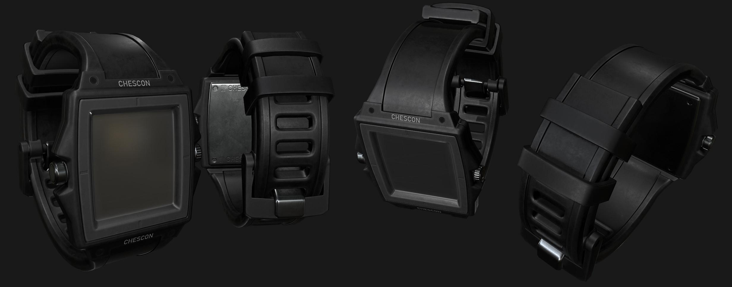 New player compass watch.