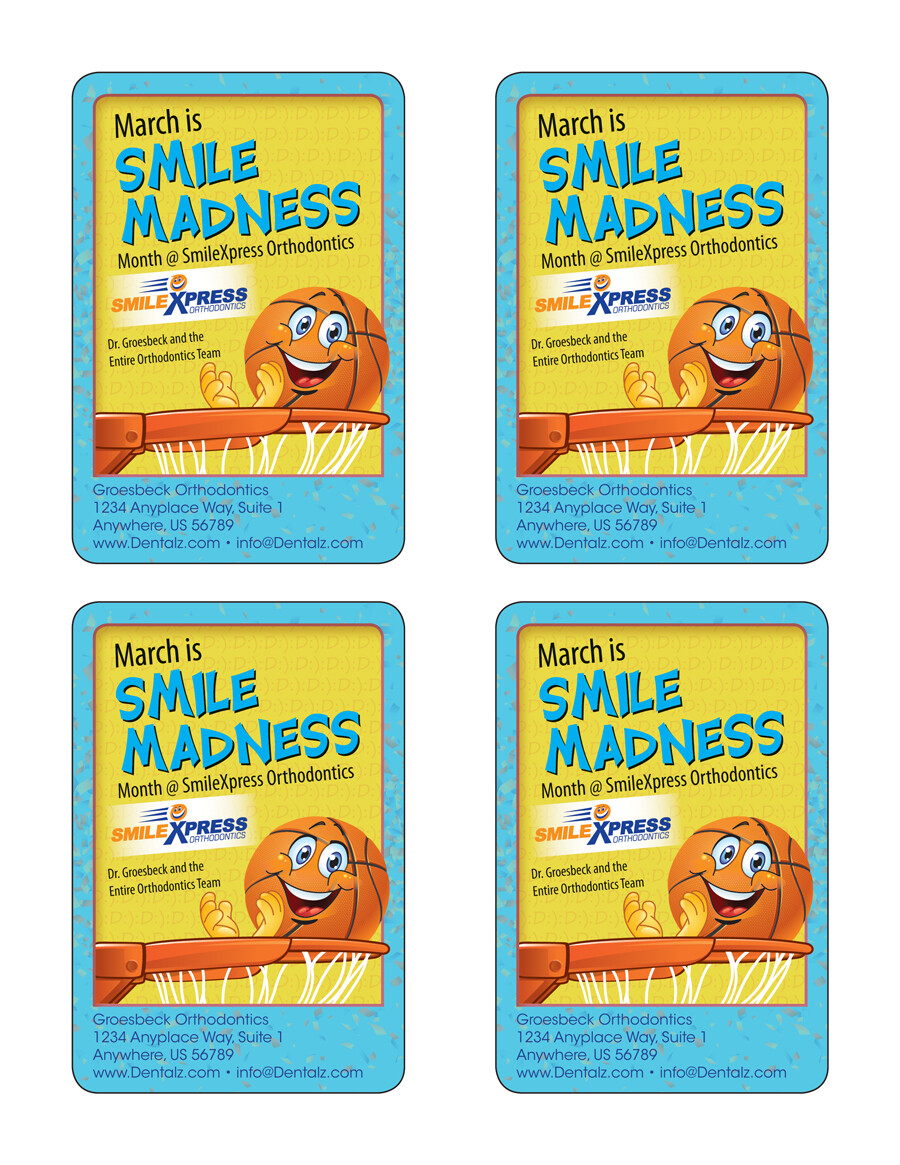 Charles kent smile madness card groesbeck