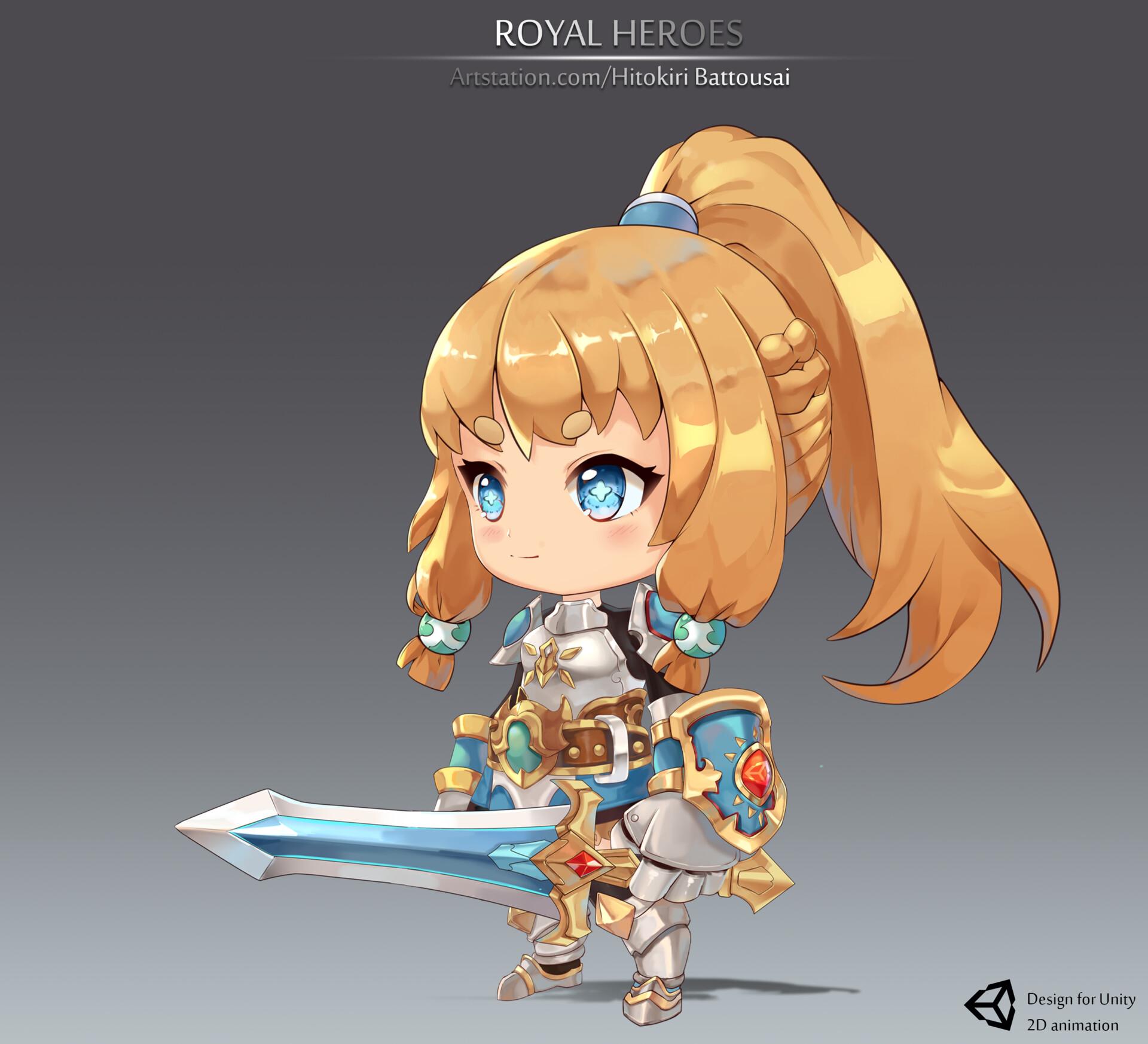 ArtStation - Royal Hero, Hitokiri Nguyen