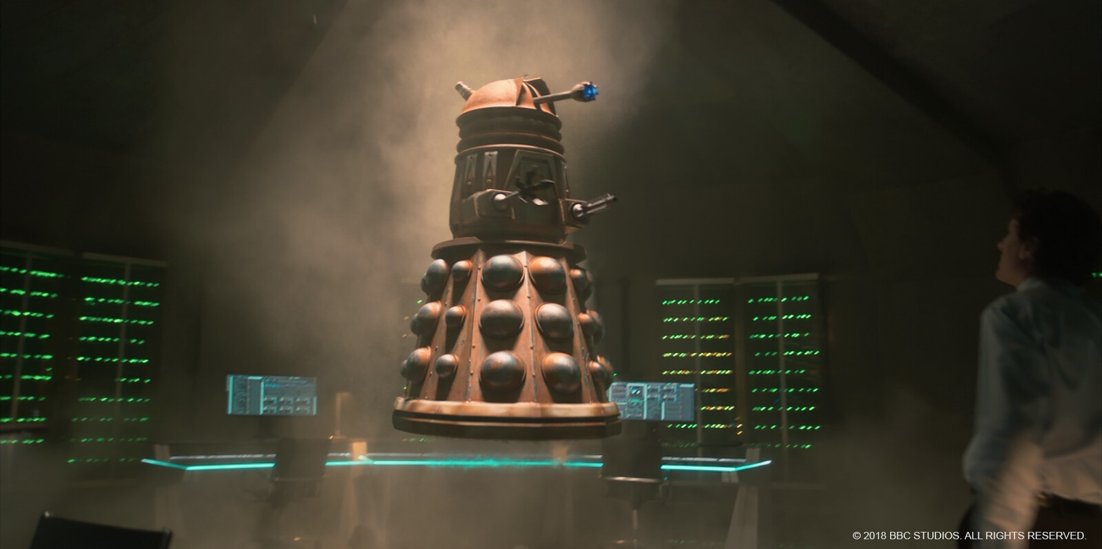 Dalek - texturing, shading and shot lighting