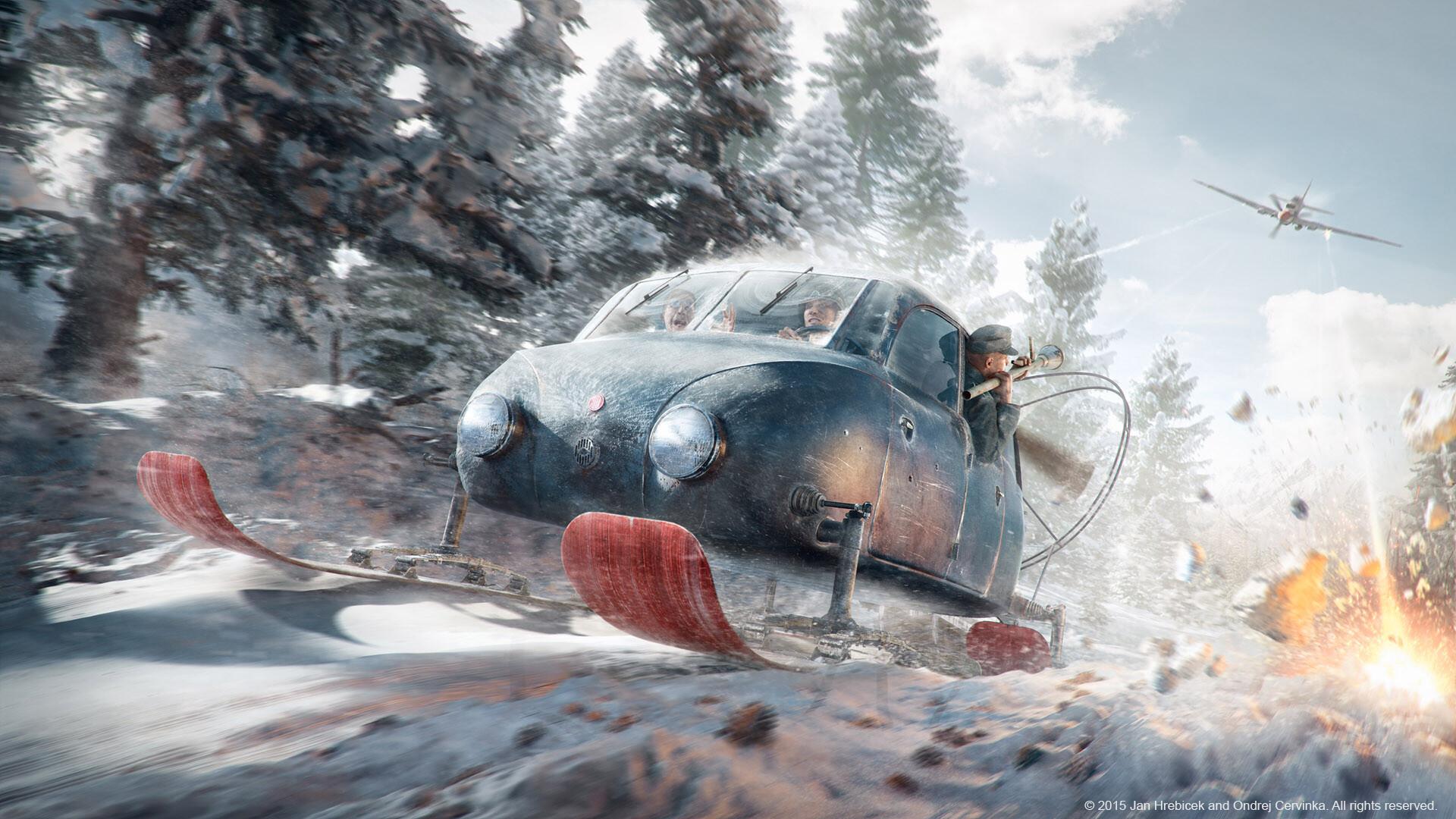 The Great Escape with Tatra V855
