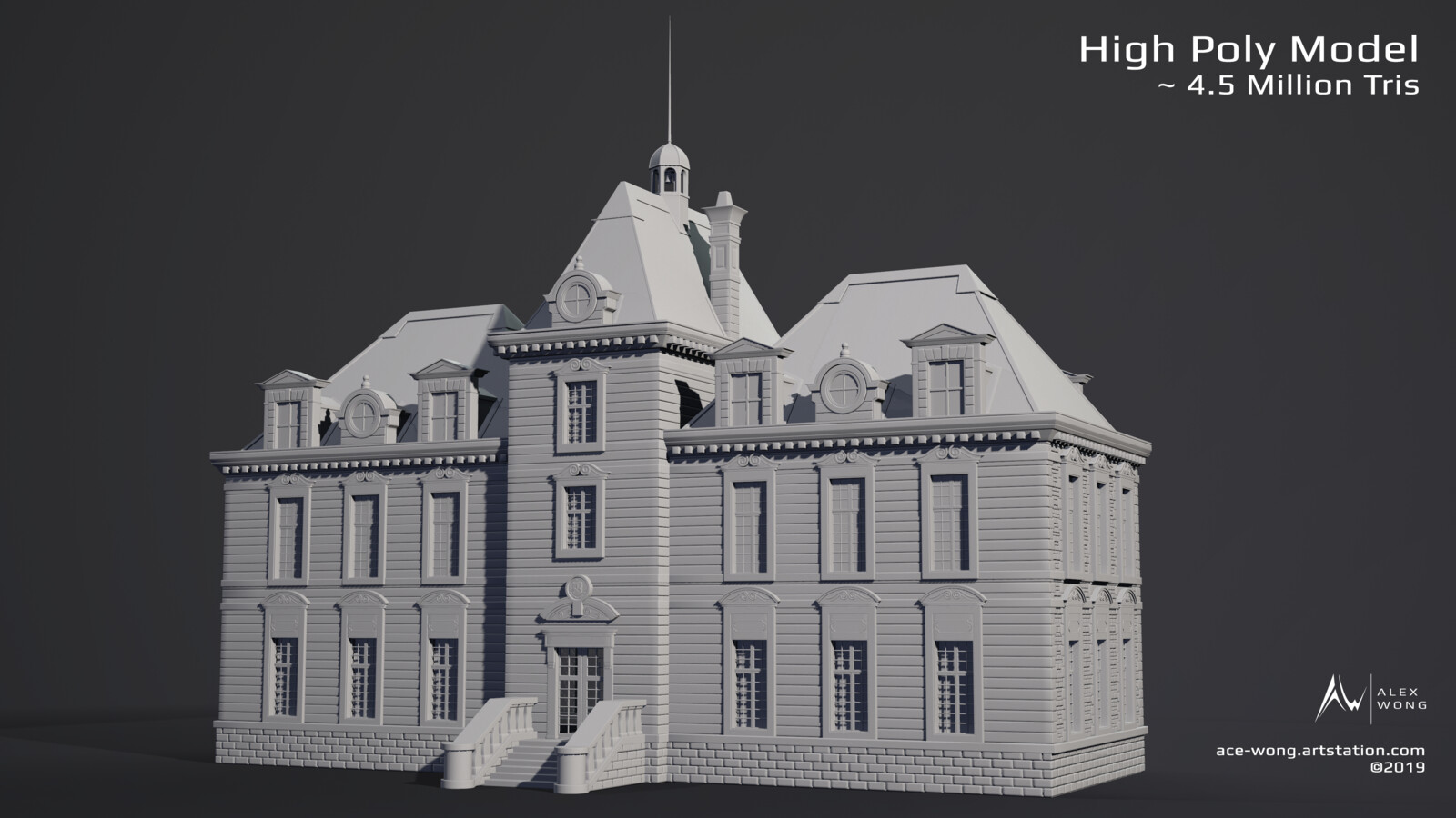 High Poly Model Stage