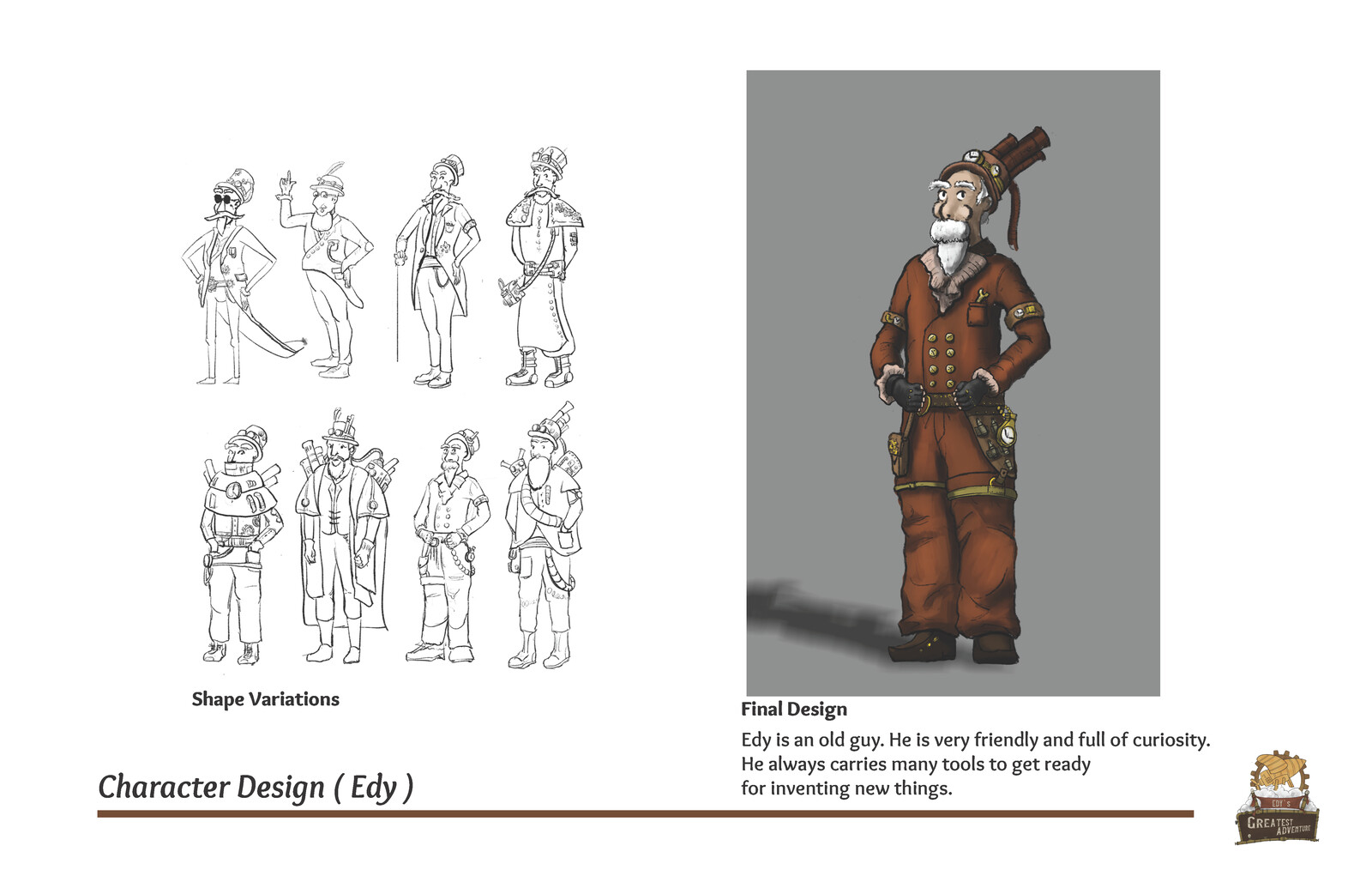 Character Design (Edy)
