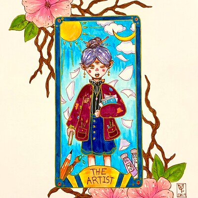 Tarot Card: The Artist