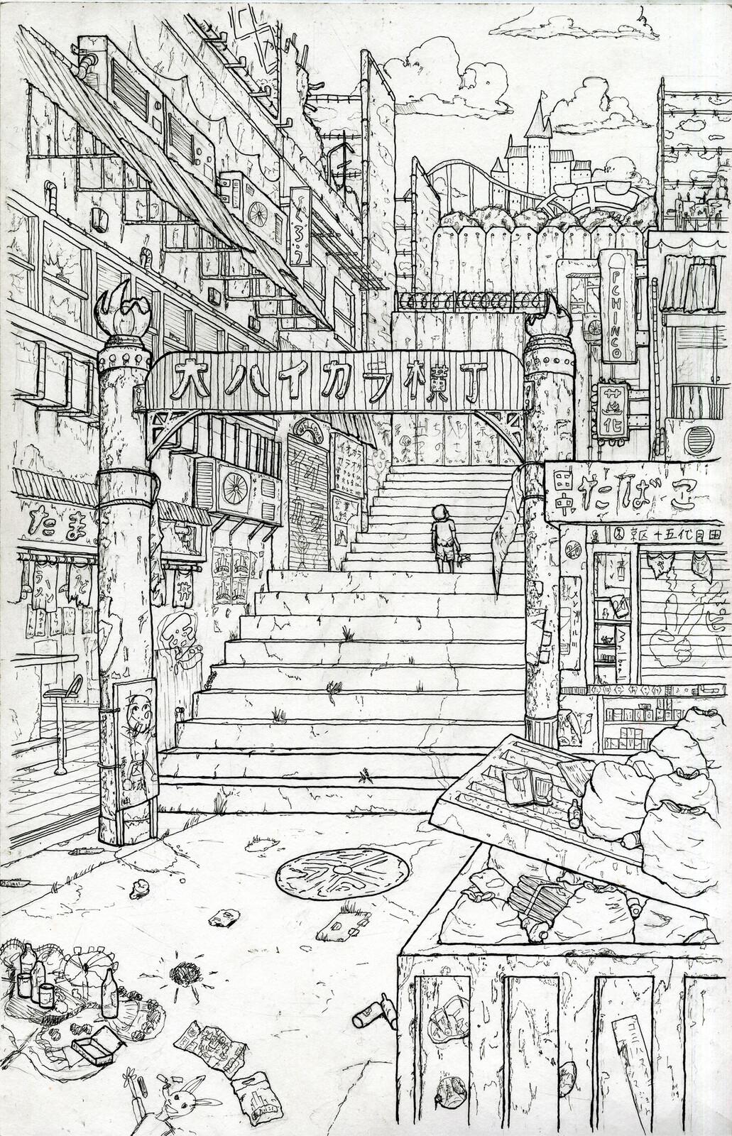 The slam street