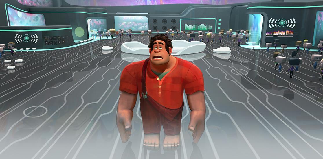Artstation Wreck It Ralph 2 Concept Art Jim Martin