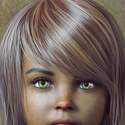 Daniela diederichs green eyes