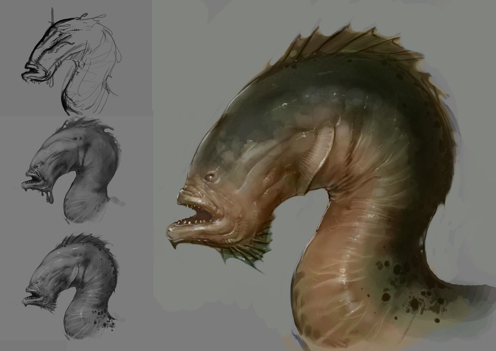 Simon lissaman sea horse