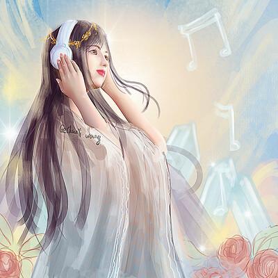 Gechunyi wang listening to music by gechunyi wang 2019 april
