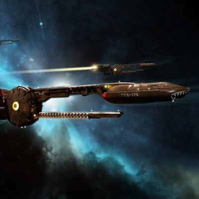 Simon lissaman federation pursuit ship