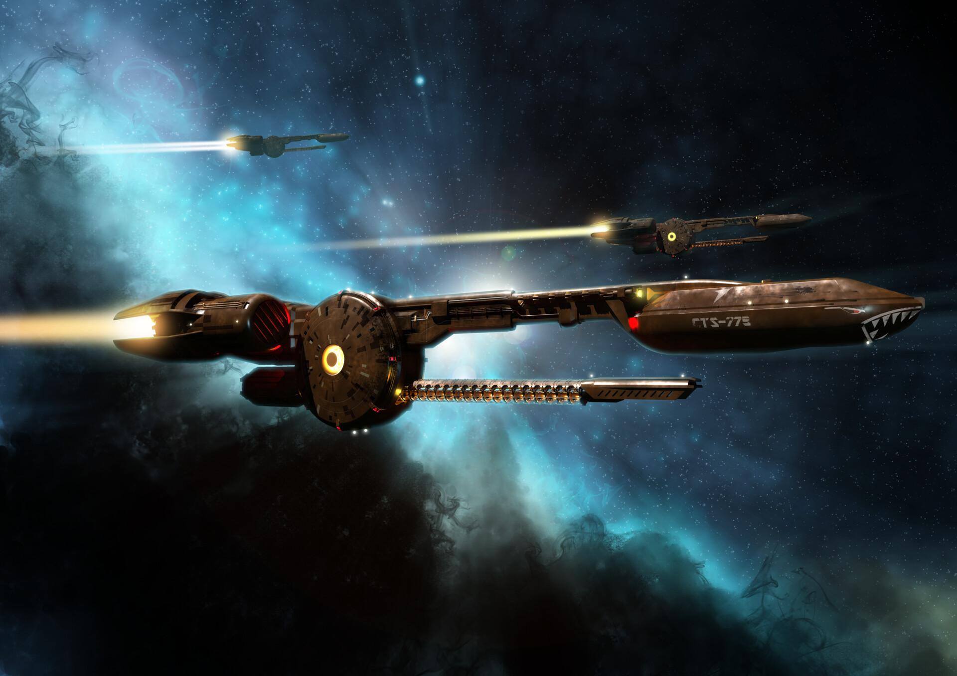 Simon lissaman federation pursuit ship
