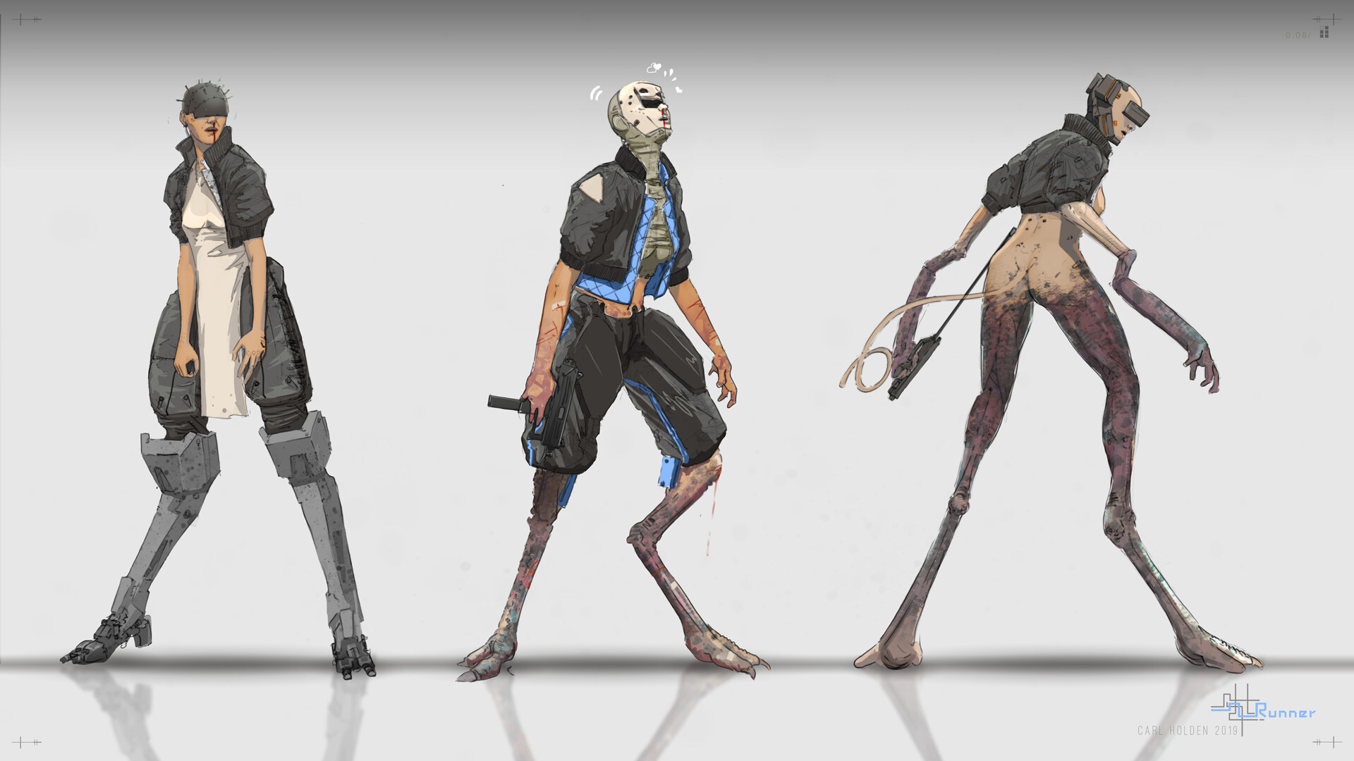 Carl holden 19 runner concepts