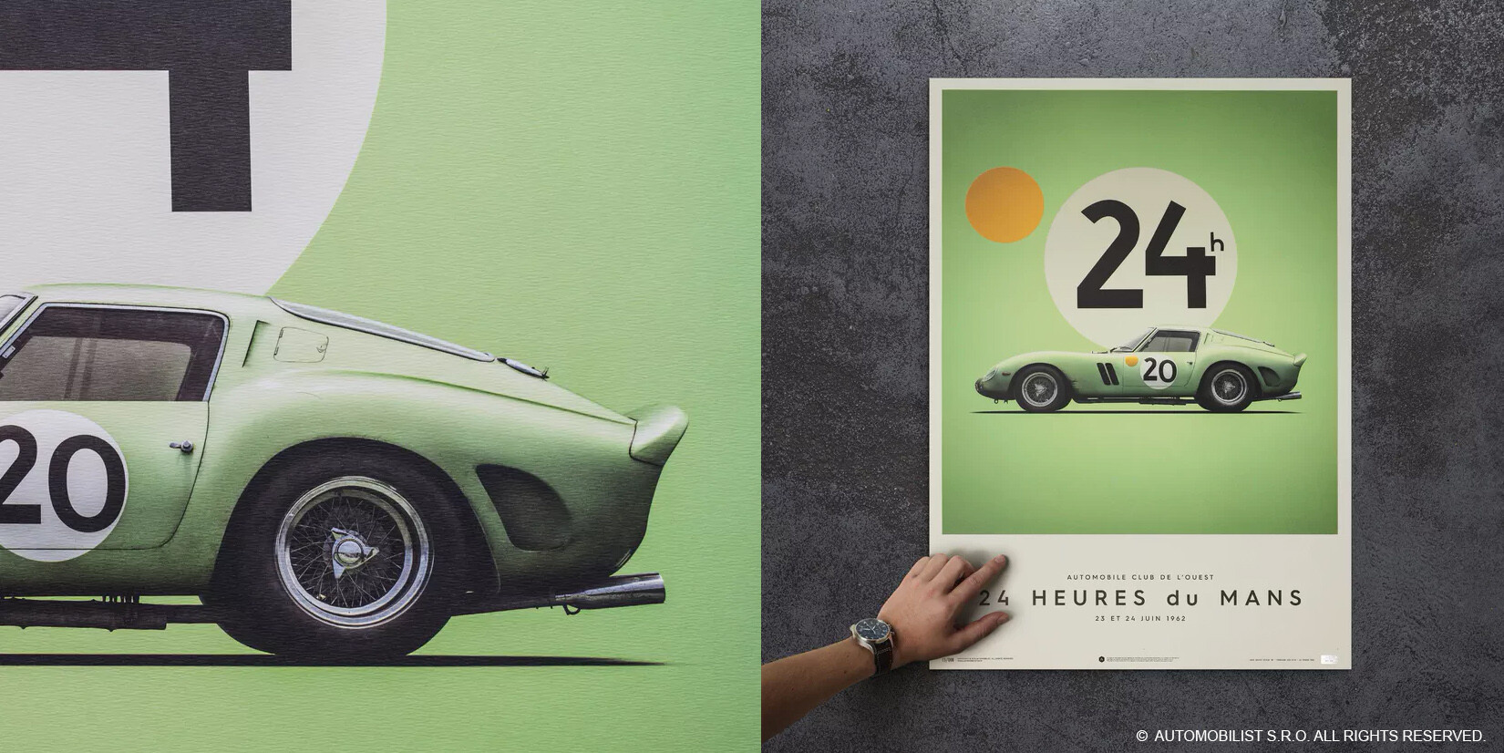 Usage on posters - Ferrari 250 GTO