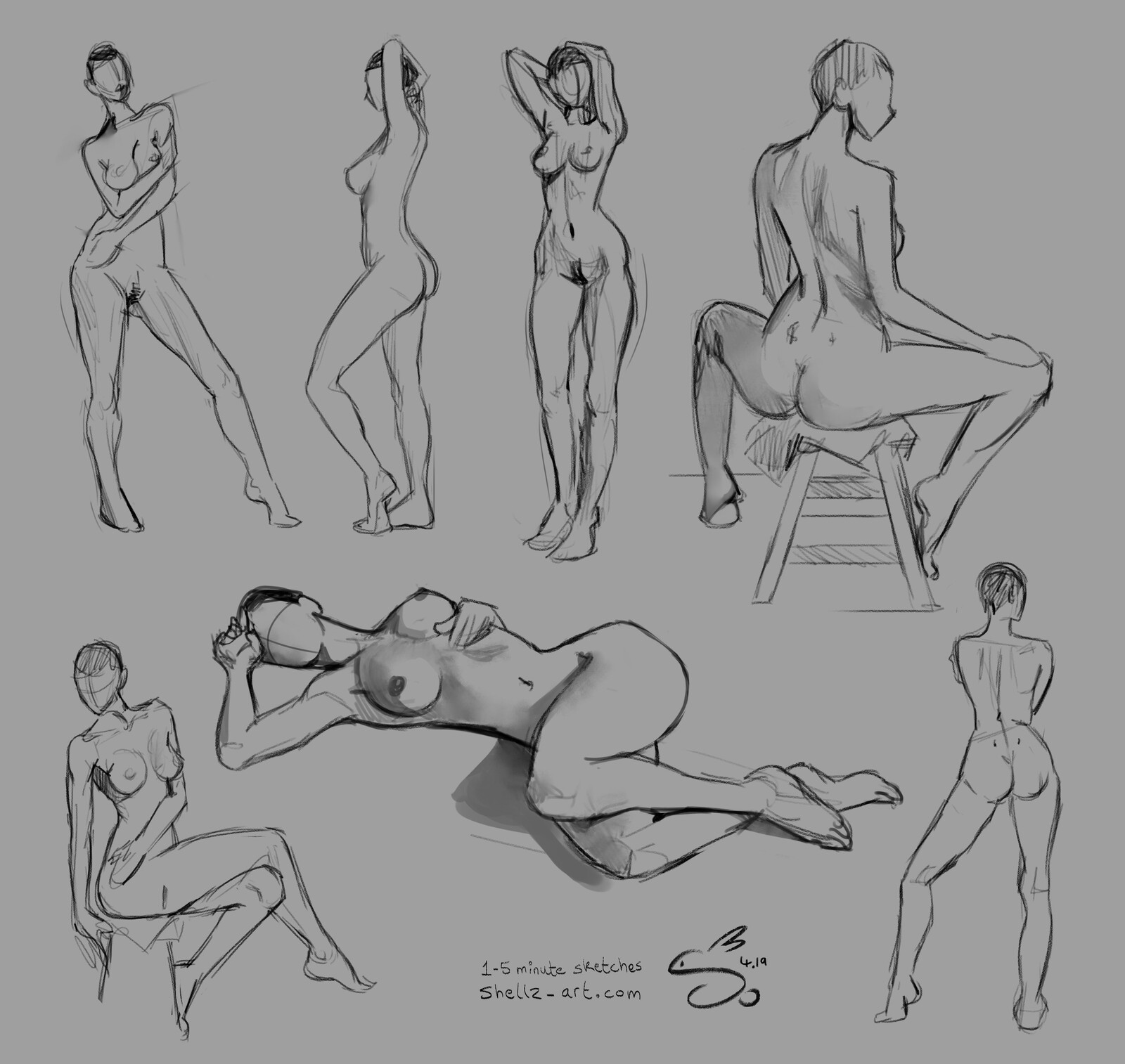 Figure Drawing | Croquis Café 3