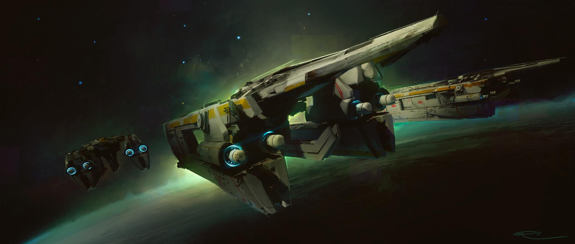 Pablo carpio spaceship 2 4k