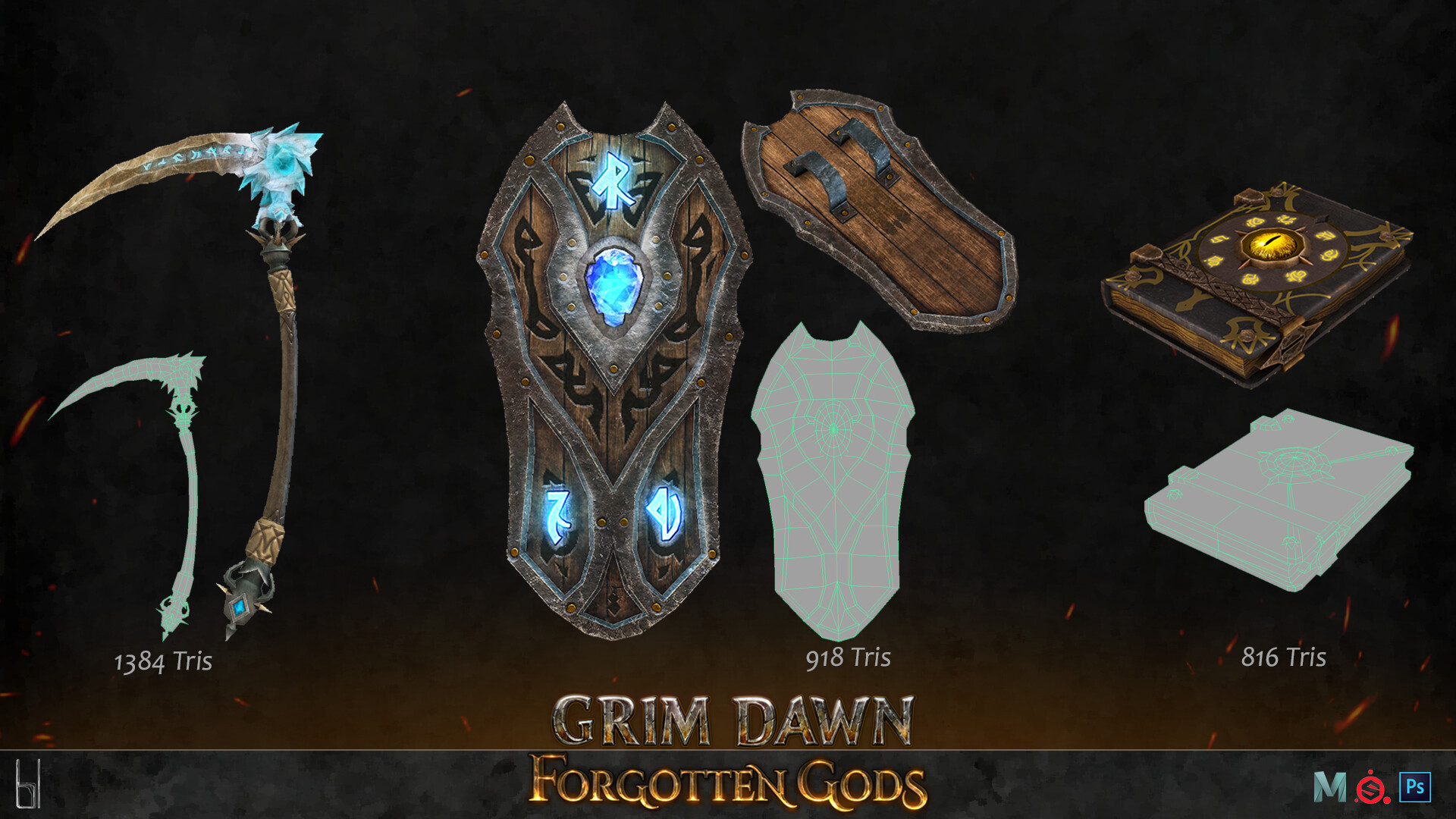 ArtStation - Grim Dawn - Forgotten Gods Expansion, Benoit