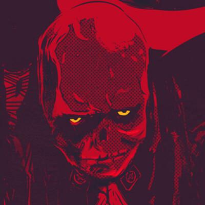 Sebastian komorowski red skull