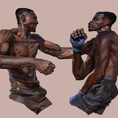 Daniel clarke fight2