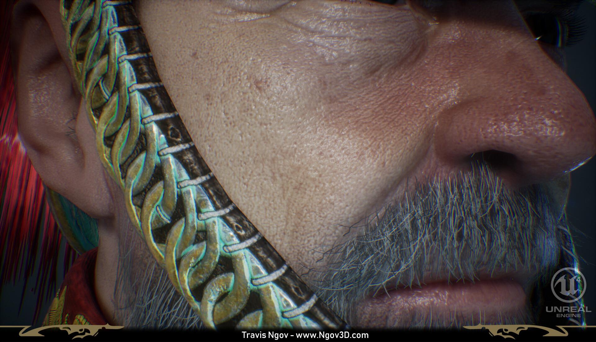 Travis ngov bust gameres closeup 03