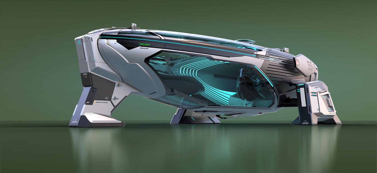 NVIDIA Metropia 2042 - AZIMUTH concept Exterior
