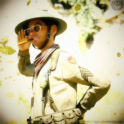 Ronald gavin castillo philippine scouts