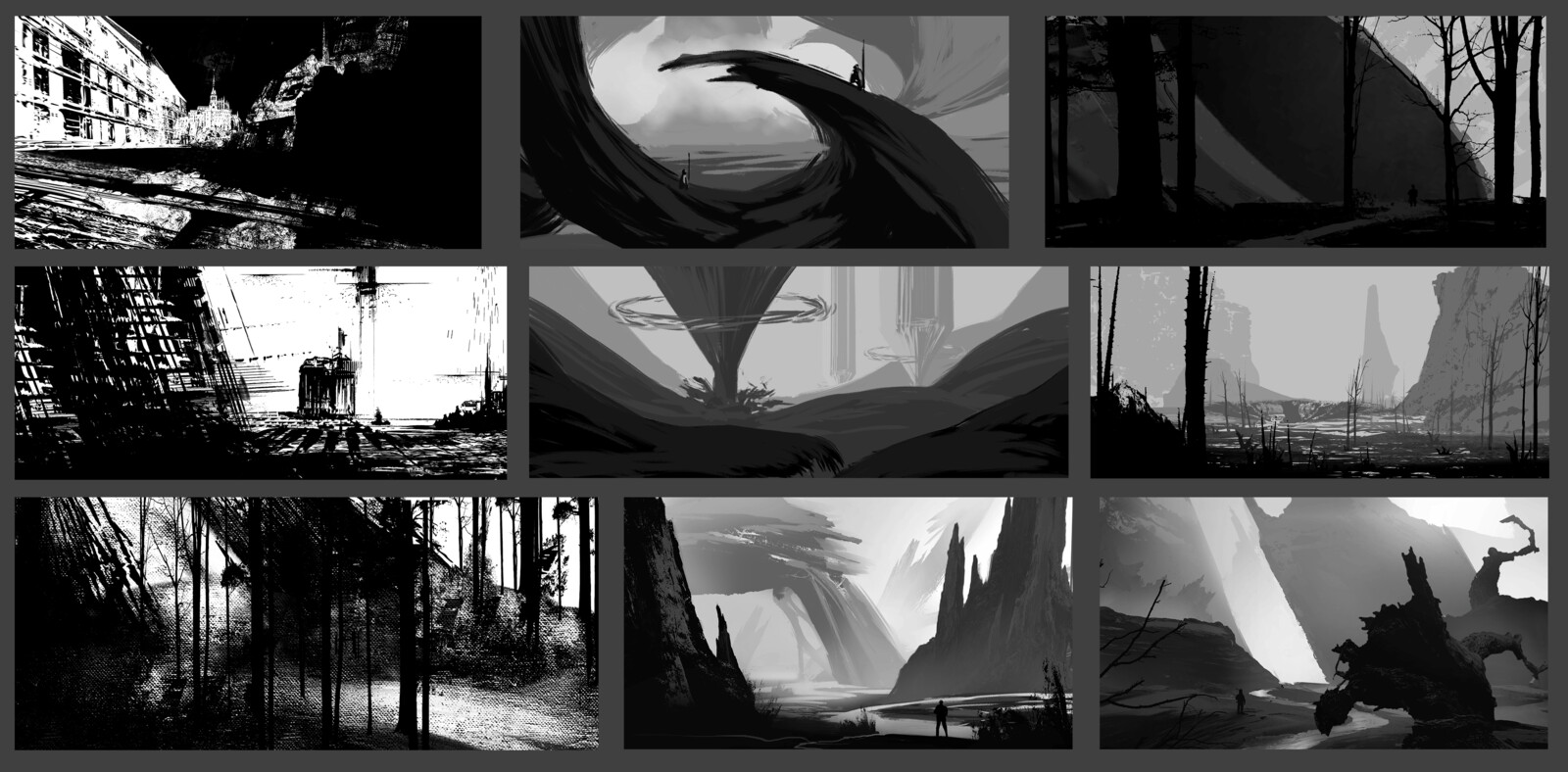 Composition sketches