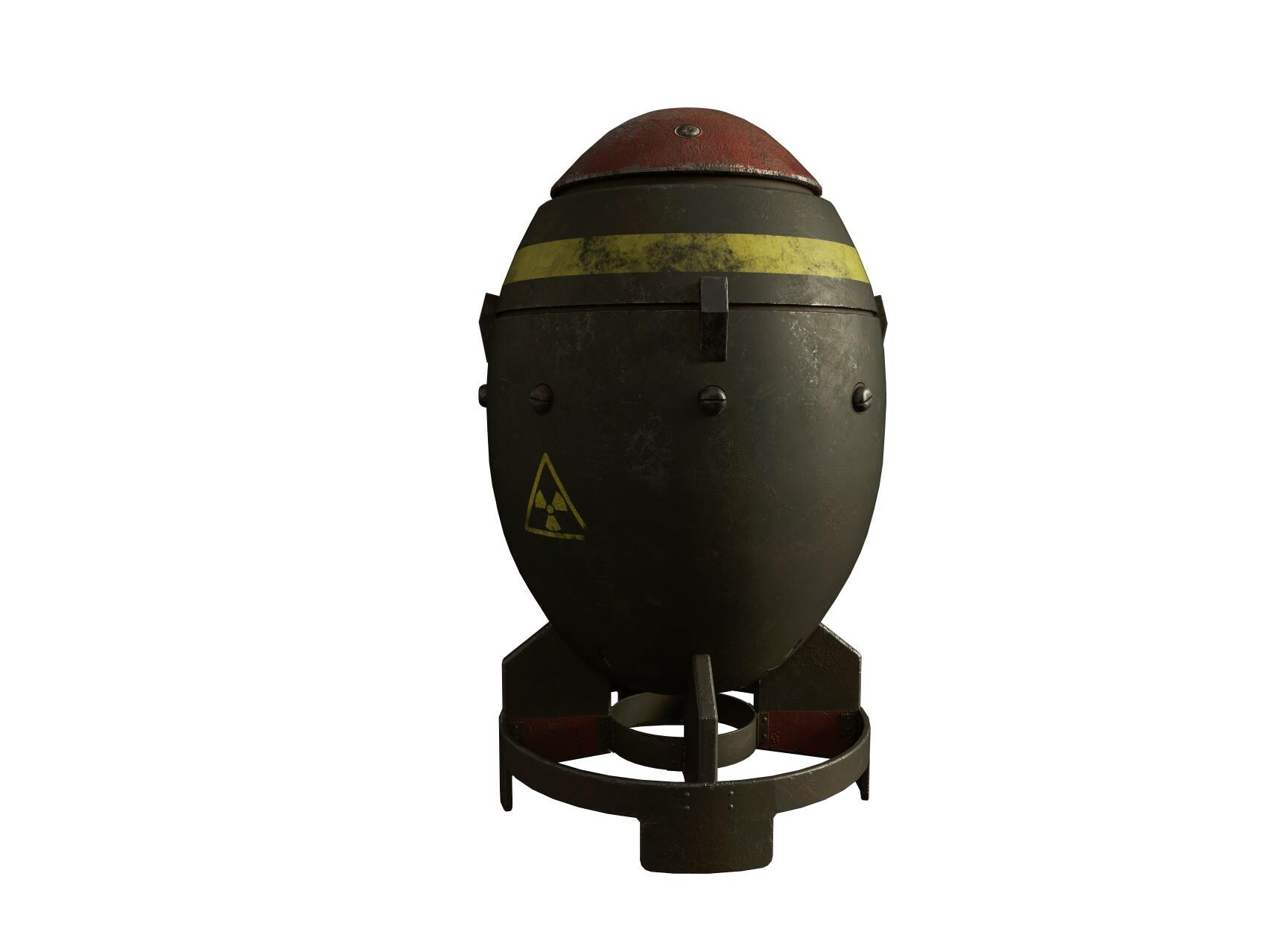 March 2019: Based on Fallout's mini nuke for the Fatman.