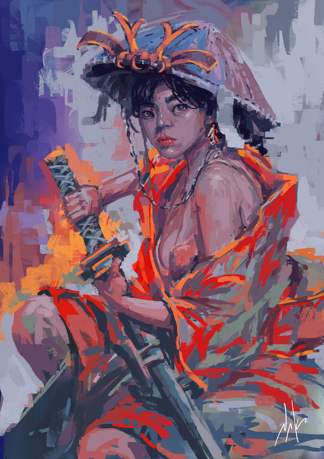 Yukata Samurai