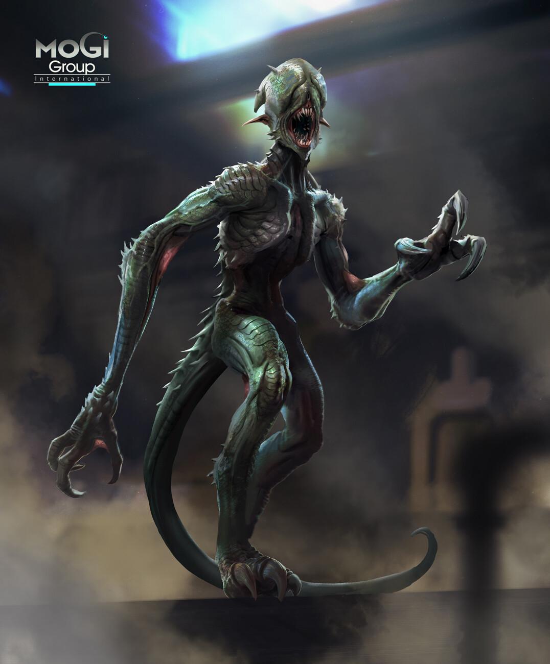 Miro petrov alien creature