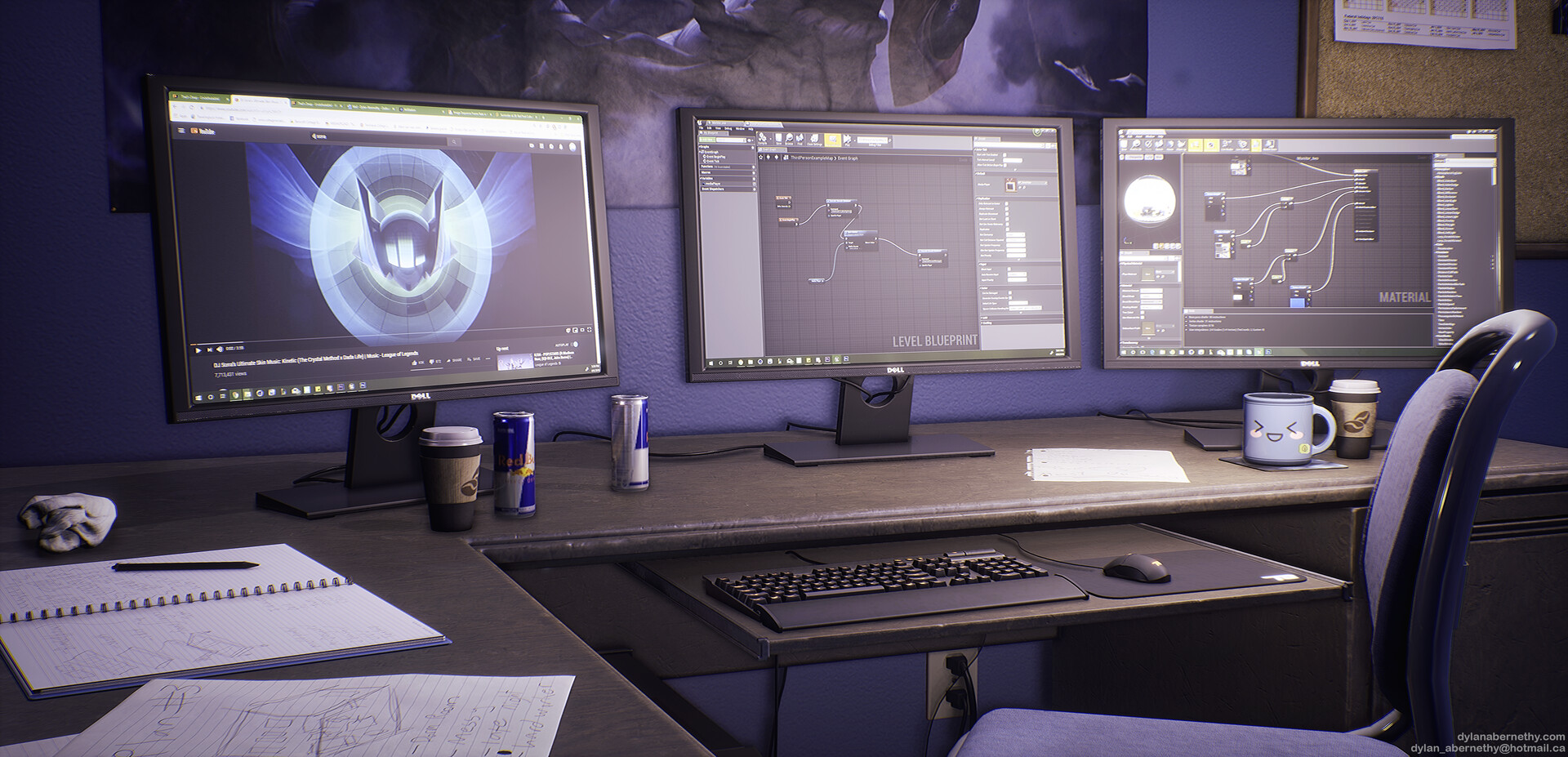 View of Monitors