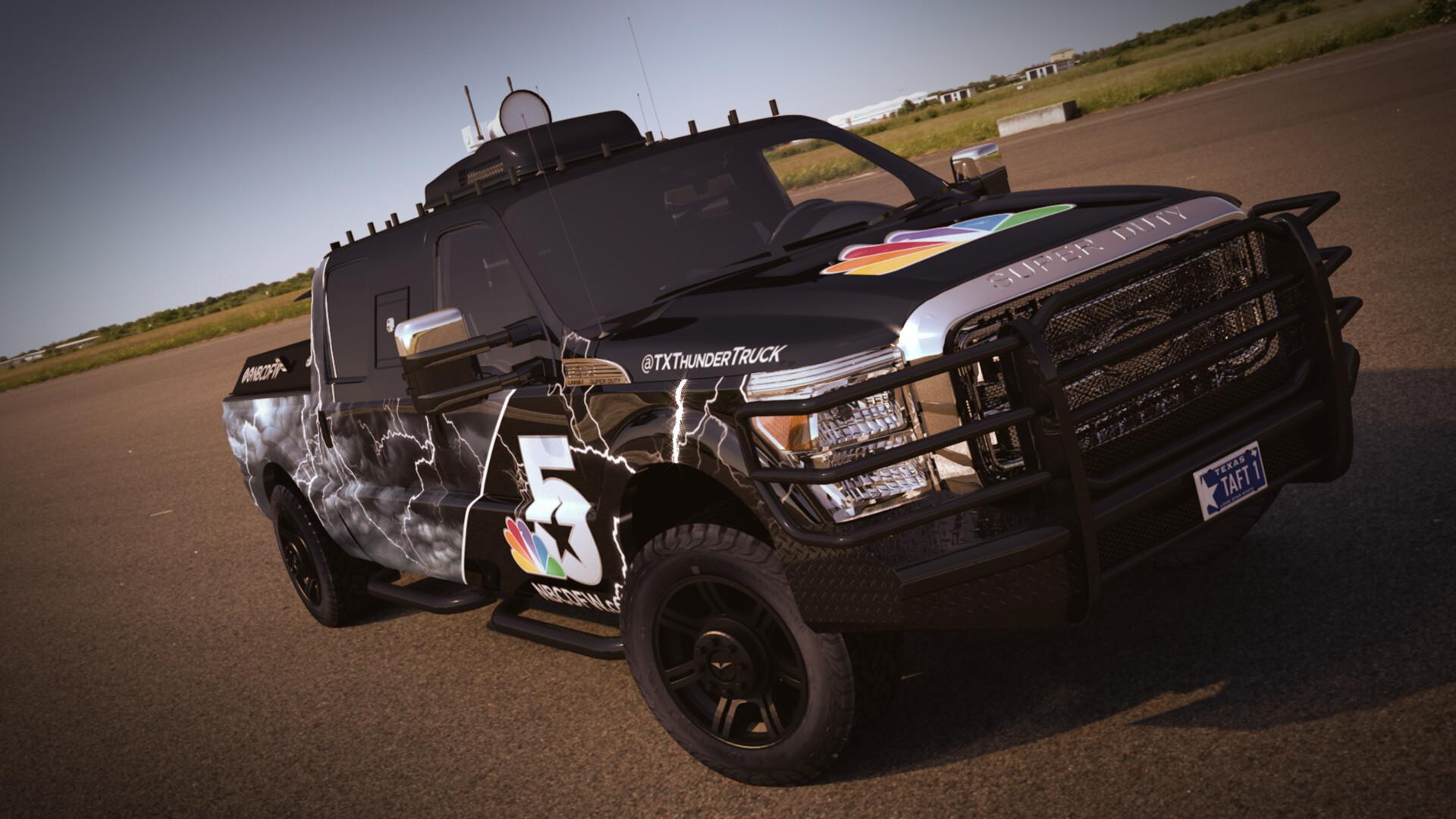 NBC 5 Fleet Vehicles
