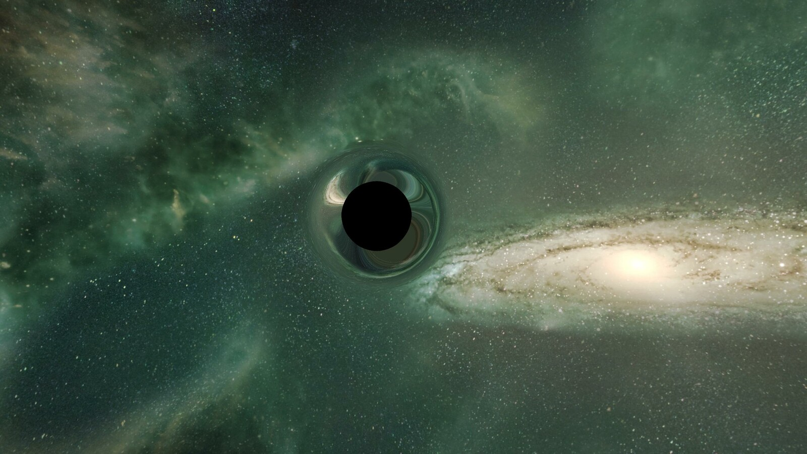 Black Hole Material