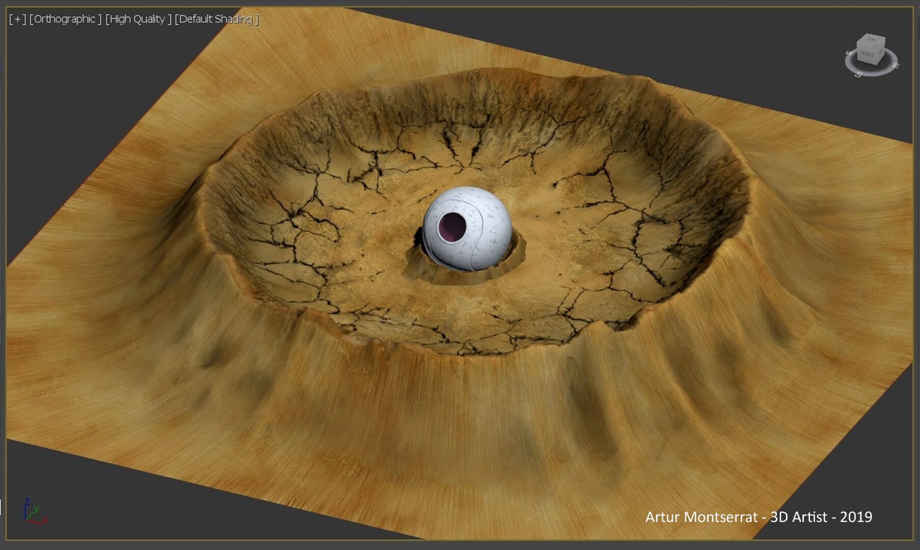 ArtStation - Dragon Ball Pod Landing, Artur Montserrat