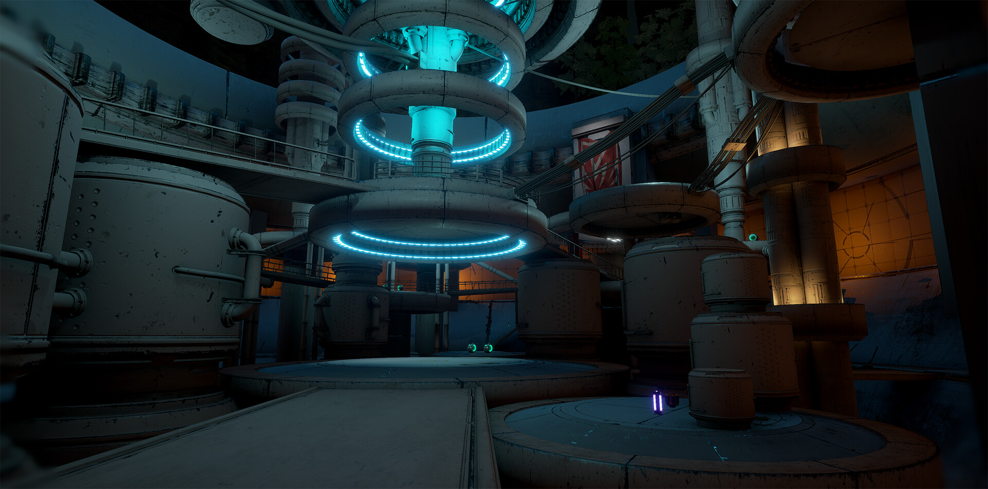 Battle Arena, Bottom Floor.