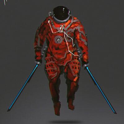 Benedick bana space samurai lores