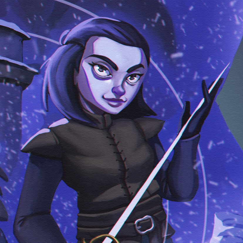 Lady Arya Stark - Nobody - Mercy